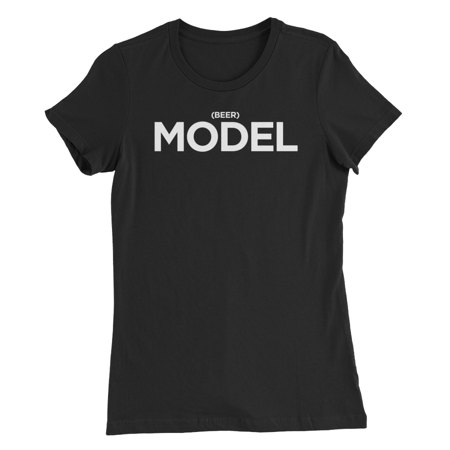 Beer Model Womens T-Shirt