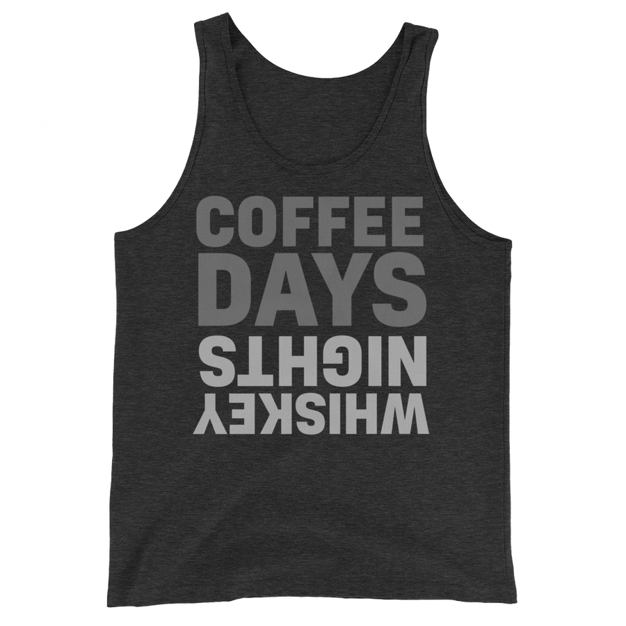 Coffee Days Whiskey Nights Tank Top