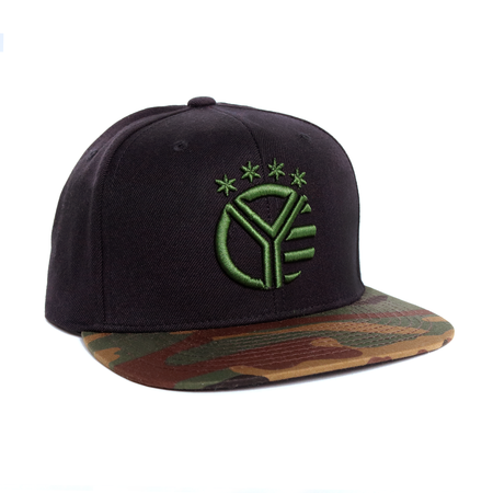 Whiskey Riff Camo Bill Snapback