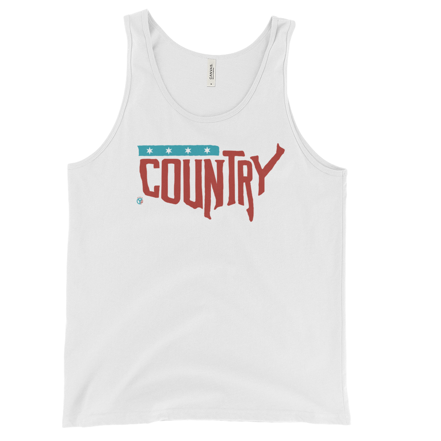 Country, USA Tank Top