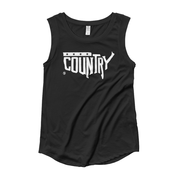 Country, USA Women's Cap Sleeve Tank