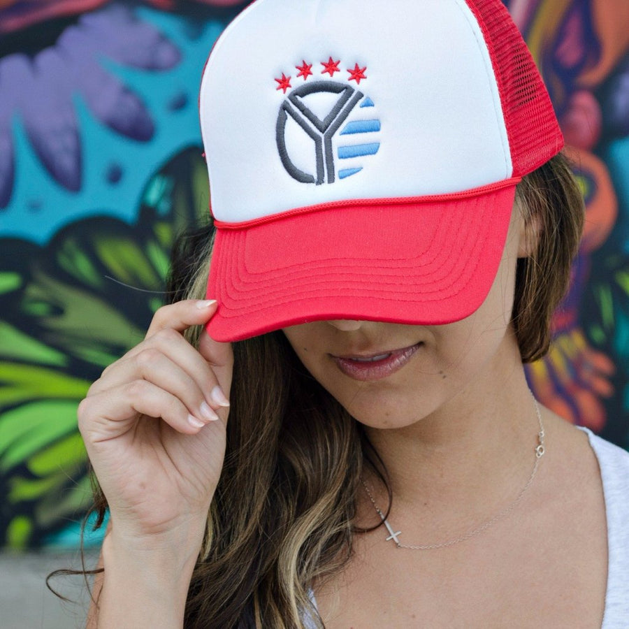 Whiskey Riff Foam Trucker Hat