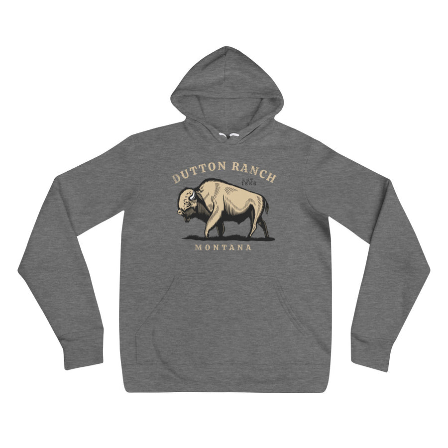 Yellowstone Dutton Ranch Bison Hoodie