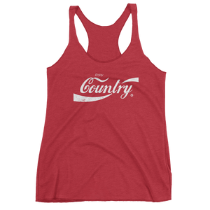 Enjoy Country Women's Tri-Blend Tank Top