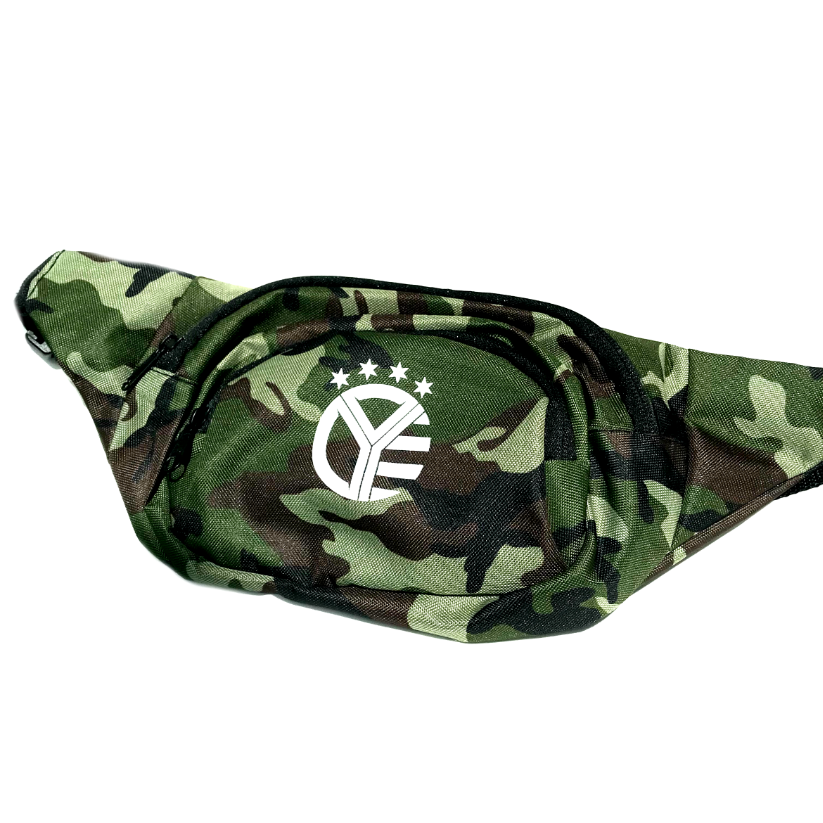 Whiskey Riff Camo Fanny Pack