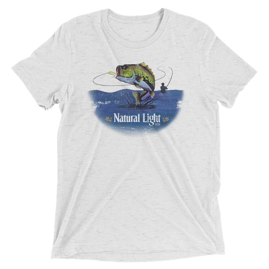 Natural Light Bass Fishing T-Shirt