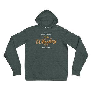 Whiskey Riff Fly Fishing Hoodie