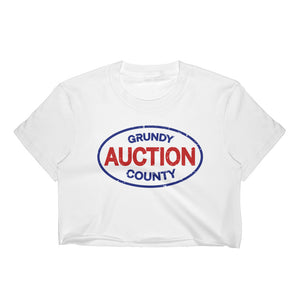 Grundy County Auction Crop Top