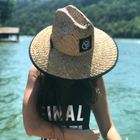 Whiskey Riff Straw Lifeguard Hat