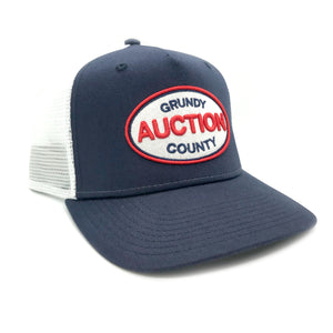 Grundy County Auction Trucker Hat