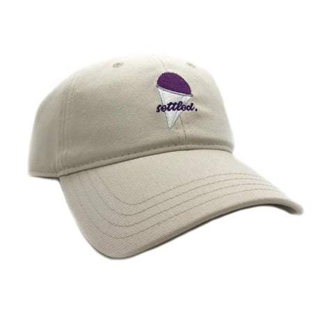 """Settled"" Grape Snow Cone Dad Cap"
