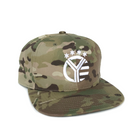 Whiskey Riff MultiCam Snapback