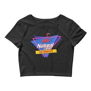 Natural Light Naturdays '80s Crop Top