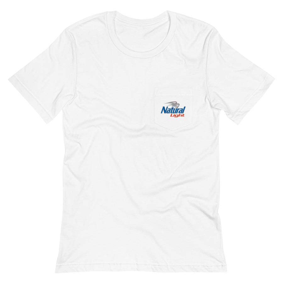 Natural Light Throwback Pocket T-Shirt