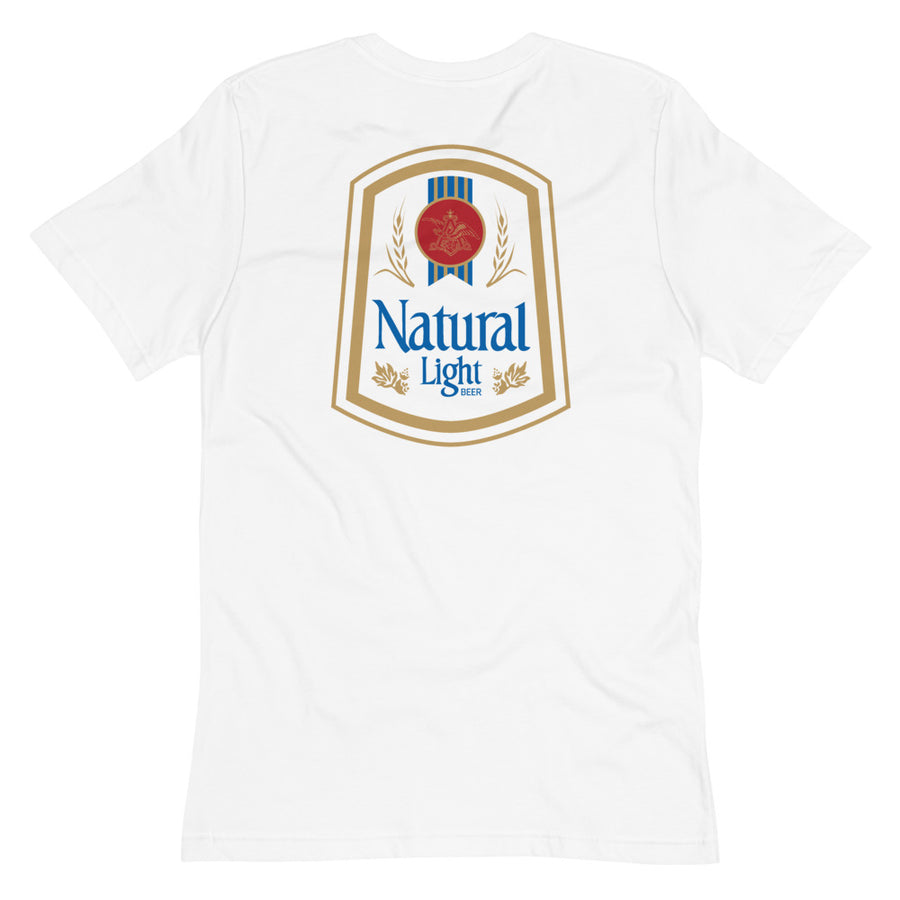 Retro Natural Light Pocket T-Shirt
