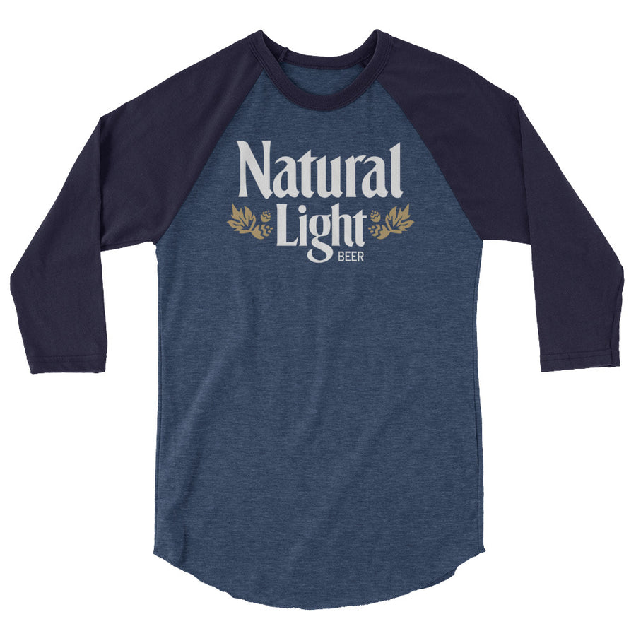 Natural Light 3/4 Raglan Shirt