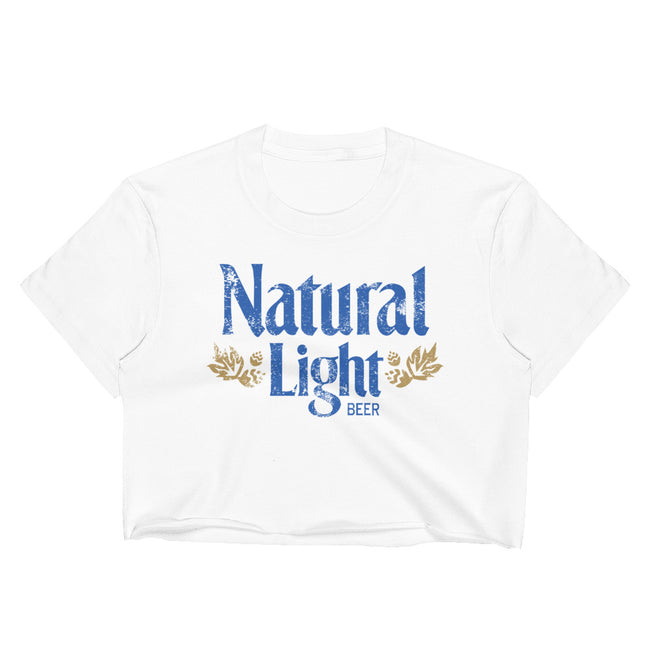 Natural Light Vintage Crop Top