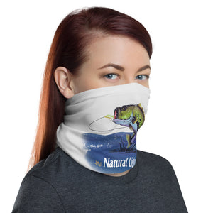 Natural Light Bass Fishing Neck Gaiter
