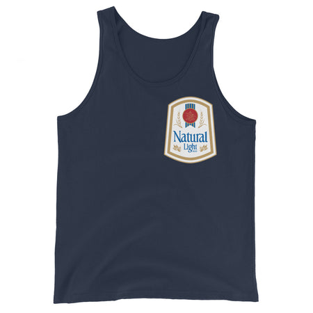 Natural Light Retro Tank Top
