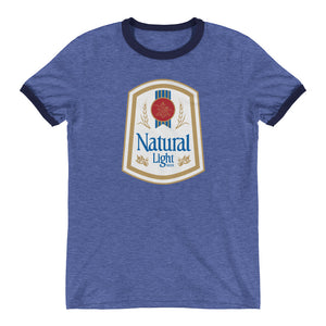 Natural Light Shield Ringer T-Shirt