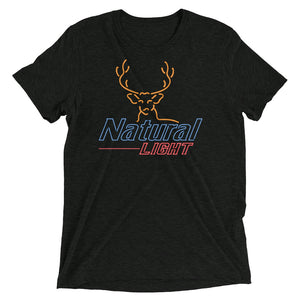 Natural Light Neon Deer T-Shirt