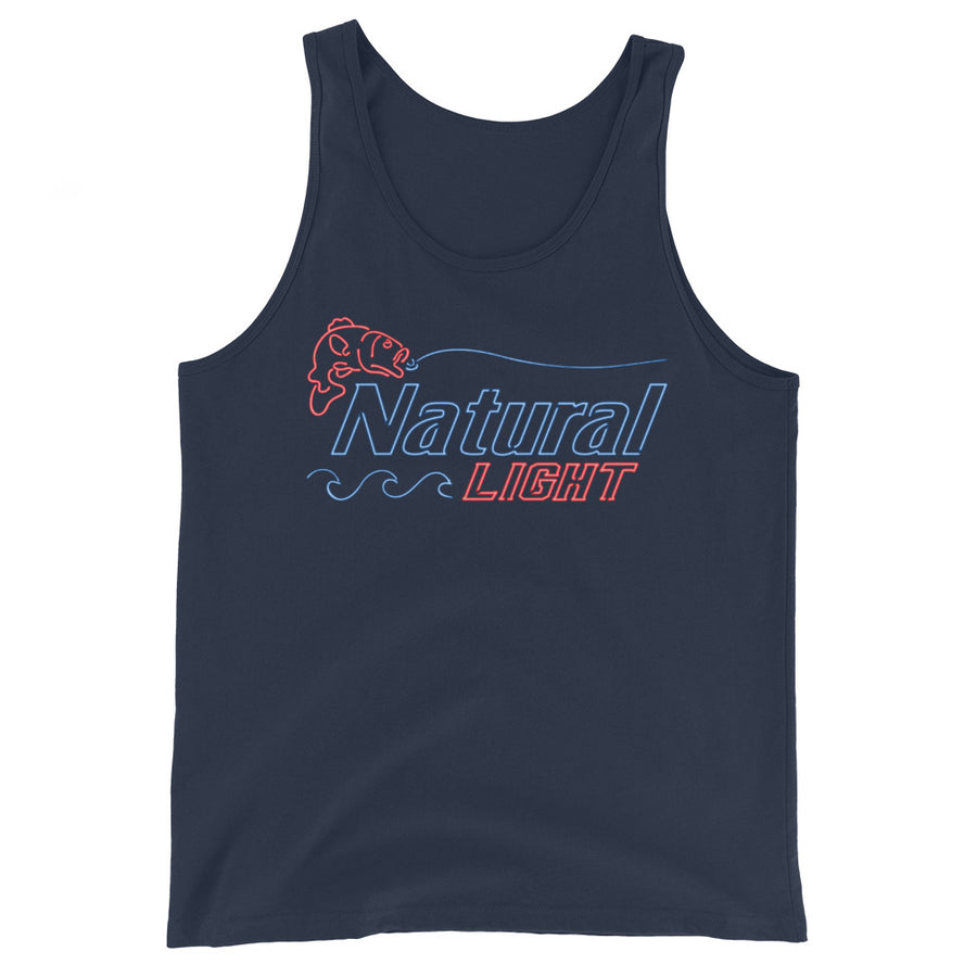Natural Light Neon Fishing Tank Top
