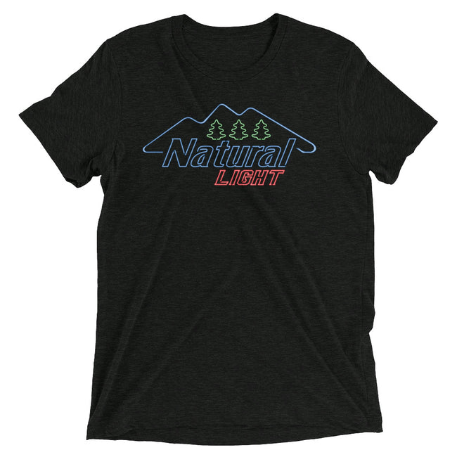 Natural Light Neon Mountains T-Shirt