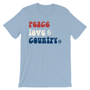 Peace, Love, & Country T-Shirt