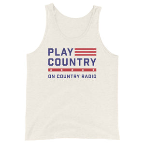 Play Country On Country Radio Tank Top
