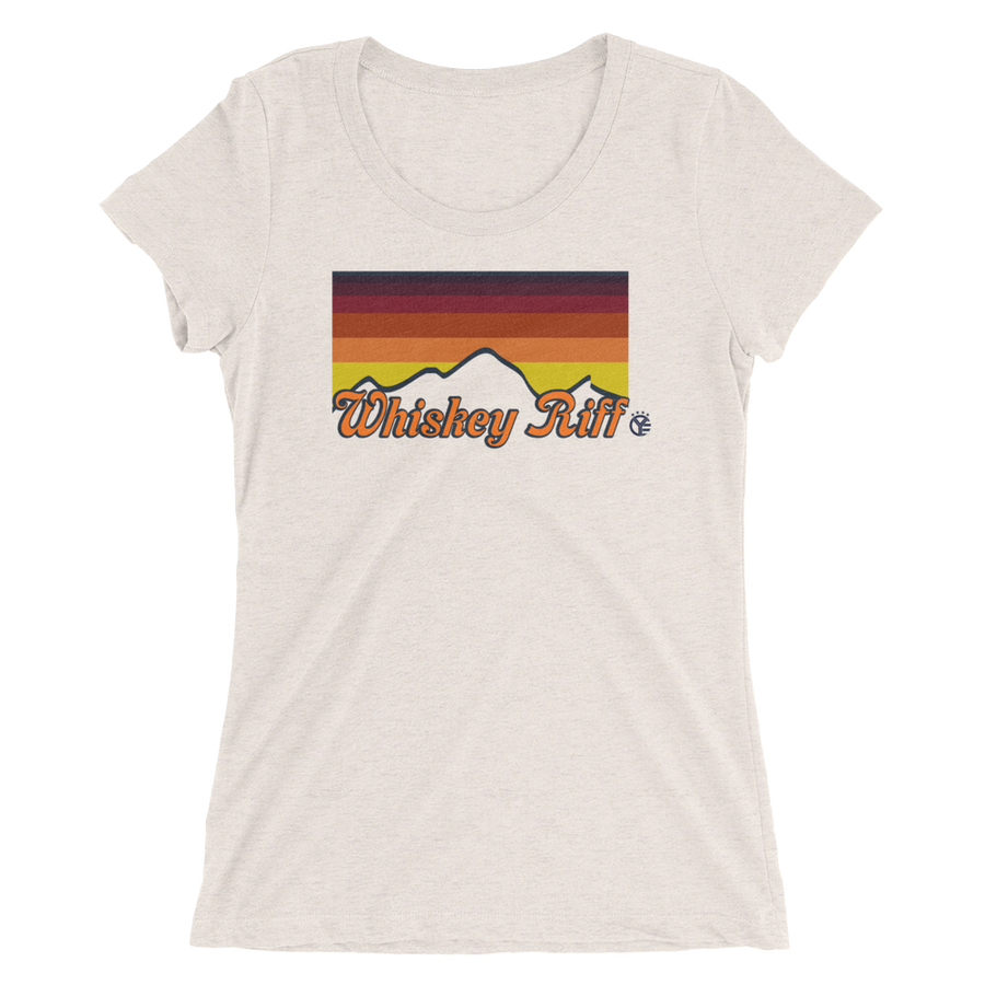 Whiskey Riff 70's Sunset Women's T-Shirt