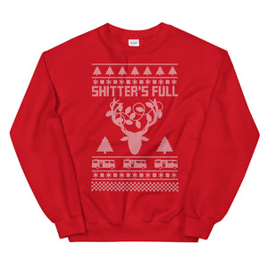 Sh*tter's Full Reindeer Ugly Christmas Sweater