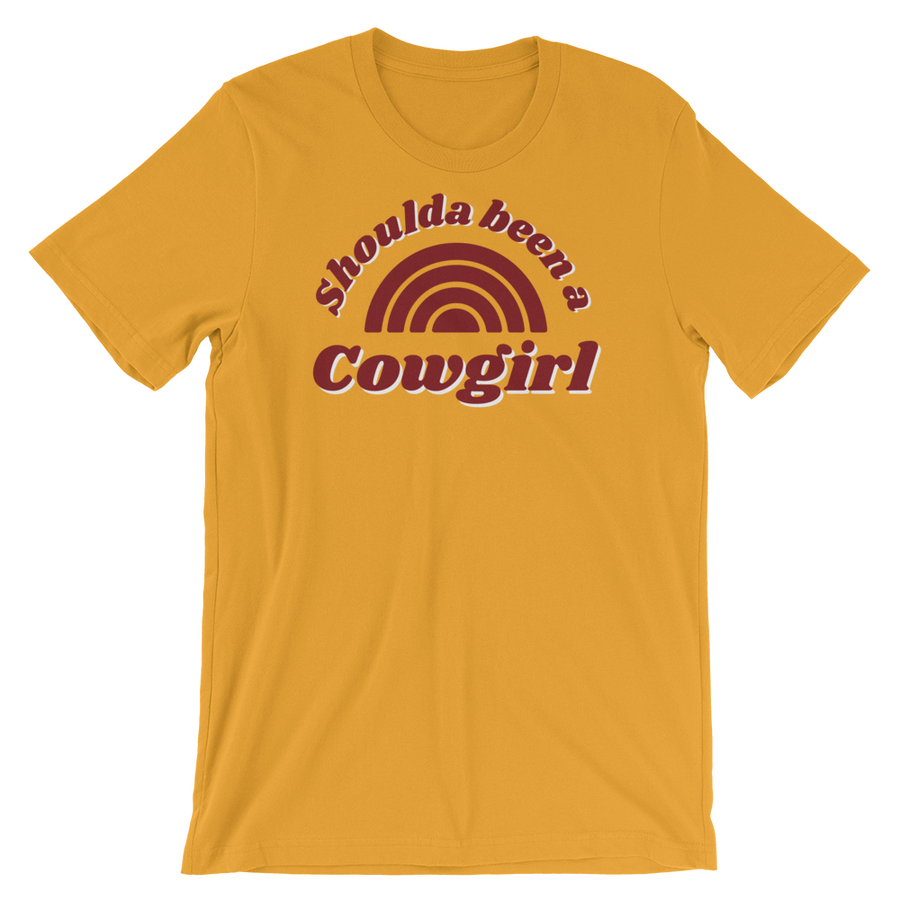 Shoulda Been A Cowgirl T-Shirt