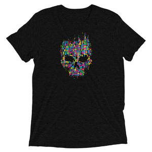 Skull Color Art T-Shirt