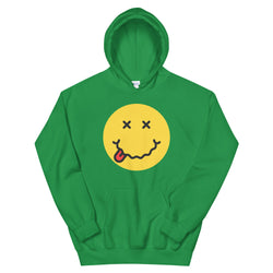 LIMITED EDITION Drunk Smiley Face St. Pat's Hoodie