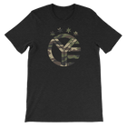 Camo Whiskey Riff Symbol T-Shirt