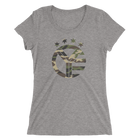 Camo Whiskey Riff Symbol Women's T-Shirt