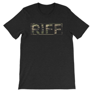Camo Whiskey Riff Logo T-Shirt