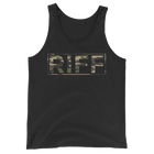 Camo Whiskey Riff Logo Tank Top