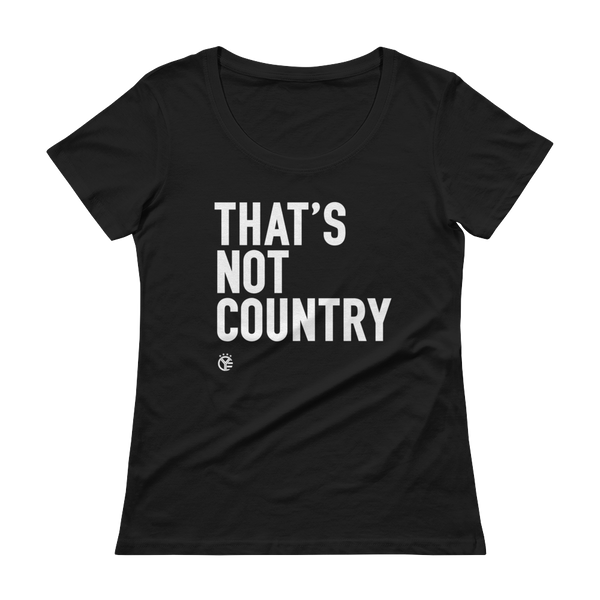 That's Not Country Women's T-Shirt