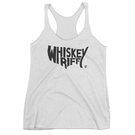 Whiskey Riff, USA Women's Tri-Blend Tank Top