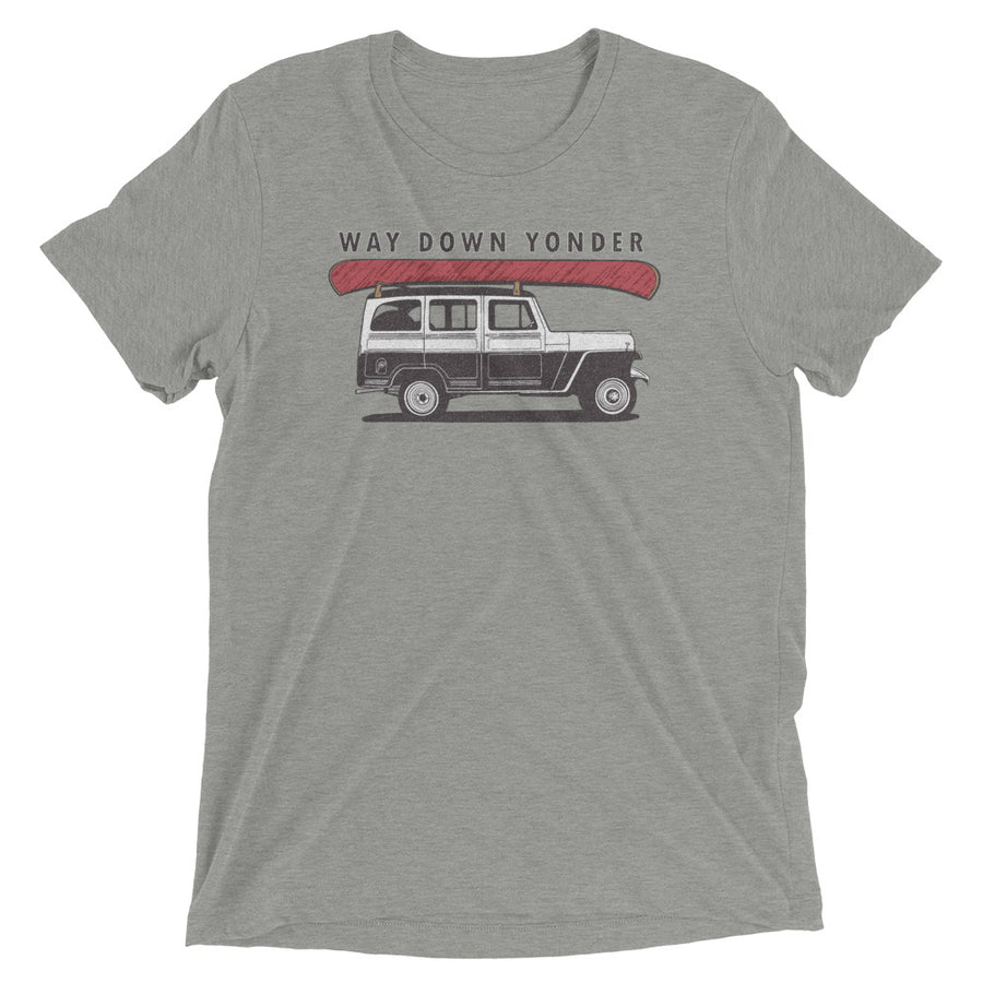 Way Down Yonder Jeep T-Shirt
