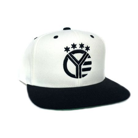 Whiskey Riff Black n' White Snapback