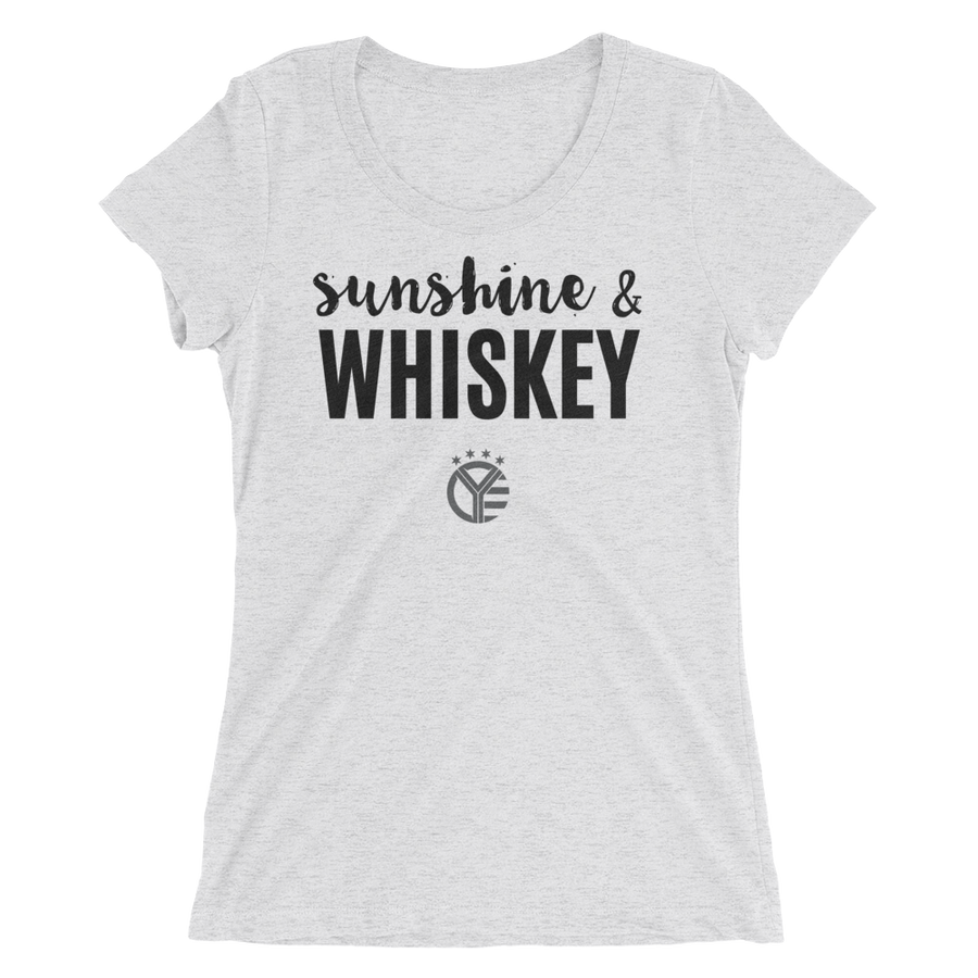 Sunshine & Whiskey Women's Tee