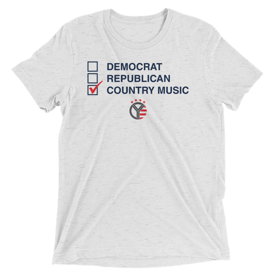 Democrat, Republican, Country Music T-Shirt