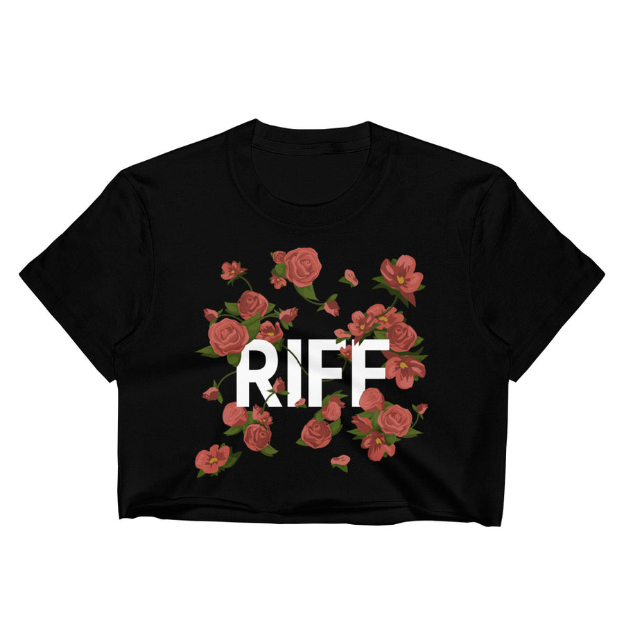 RIFF Flowers Crop Top Tee