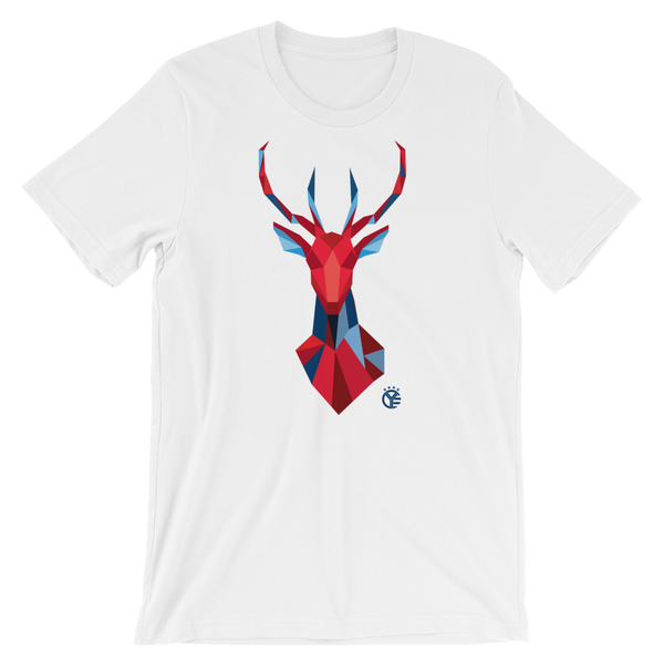 Red, White, Blue Deer T-Shirt