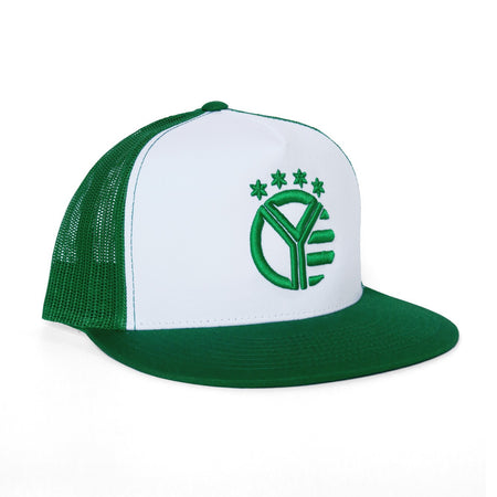 Whiskey Riff Green Snapback