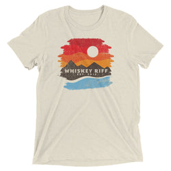 Whiskey Riff Mountain Sunset T-Shirt