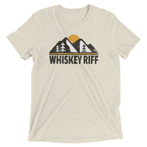 Whiskey Riff Mountain Peaks T-Shirt