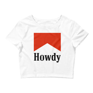Marlboro Red Howdy Crop Top